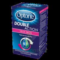 Optone Double Action Solution Oculaire Yeux Secs Fl/10ml à ROSIÈRES