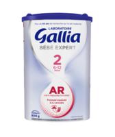 Gallia Bebe Expert Ar 2 Lait En Poudre B/800g à ROSIÈRES