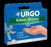 Urgo Brulures-blessures Petit Format X 6 à ROSIÈRES