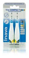 Inava Brossettes Tri Compact étroit  012 Noir 0,6mm/ Bleu 0,8mm/ Jaune 1mm à ROSIÈRES