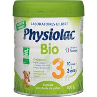 Physiolac Bio Lait 3éme Age 800g à ROSIÈRES