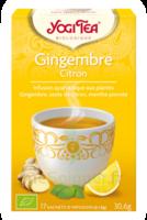 Yogi Tea Gingembre Citron à ROSIÈRES