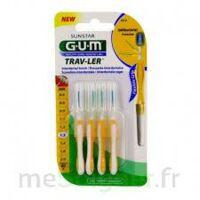 Gum Trav - Ler, 1,3 Mm, Manche Jaune , Blister 4 à ROSIÈRES