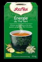 Yogi Tea Thé énergie Du Thé Vert Bio 17 Sachets à ROSIÈRES