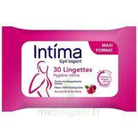Intima Gyn'expert Lingettes Cranberry Paquet/30 à ROSIÈRES