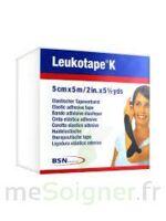 Leukotape K Sparadrap Noir 5cmx5m à ROSIÈRES