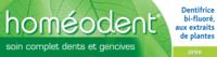 Boiron Homéodent Soin Complet Dents Et Gencives Pâte Dentifrice Anis 2t/75ml à ROSIÈRES