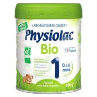 Physiolac Bio 1 Lait En Poudre B/800g à ROSIÈRES